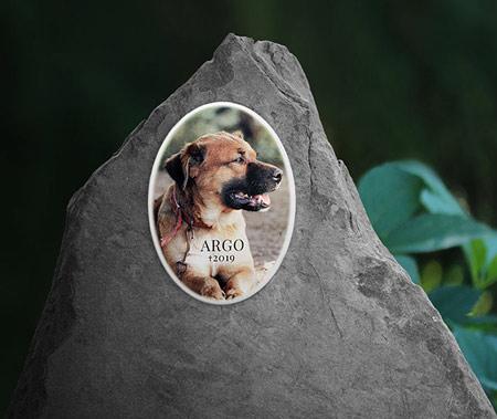 Náhrobek pro psa